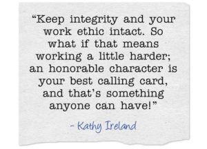 Integrity and Work Ethics Quotes