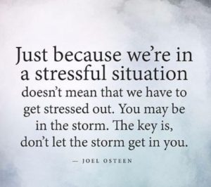Joel Osteen Quotes about Stress