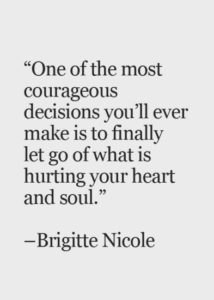Letting go and Moving on Quotes