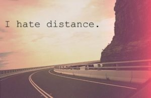 Long distance relationship status