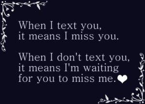 Miss you quote for Her