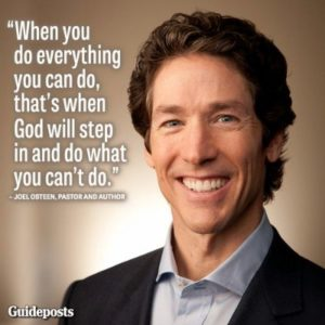 Motivational Joel Osteen Quotes about Life