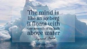 Sigmund Freud Iceberg Quote