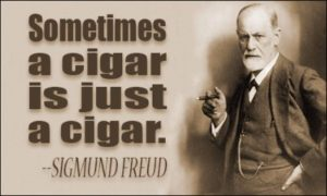 Sigmund Freud Quotes Cigar