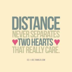 Sweet quotes long distance relationship