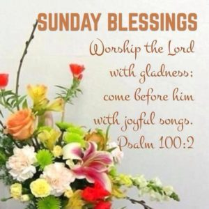 Collection Of Best Blessed Sunday Quotes