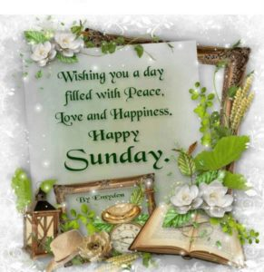 Blessed Sunday Images