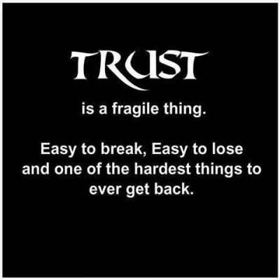 Broken Trust Quotes for Relationships