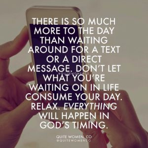 God Timing in Relationships