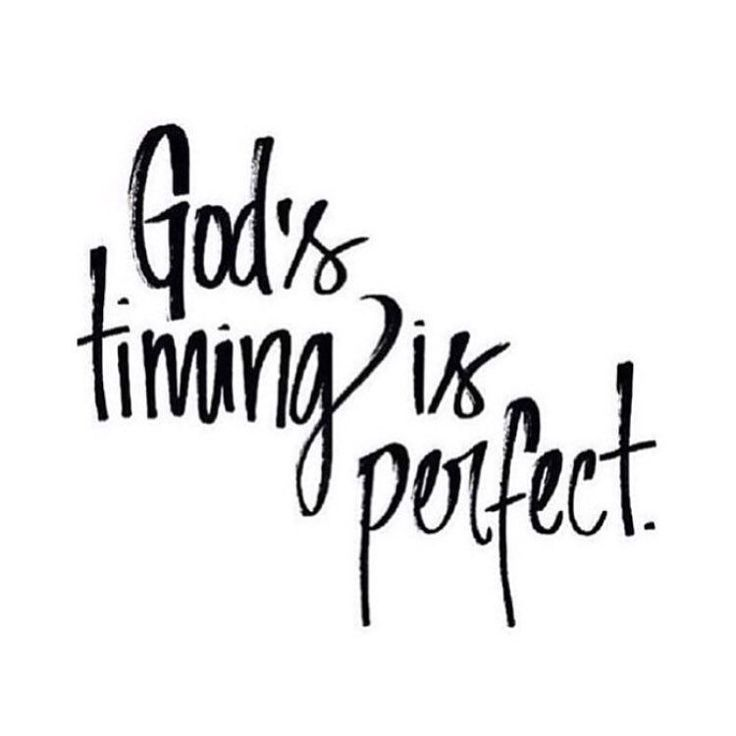 Best Inspirational Quotes About Gods Timing