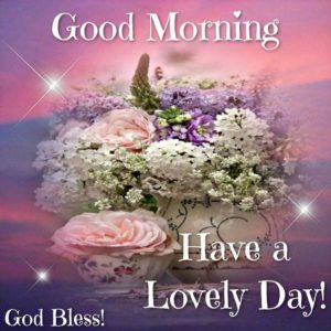Good Morning Wishes by God