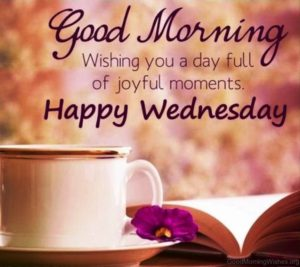 Good Morning wishes Wednesday