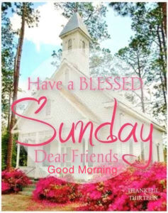 COLLECTION OF BEST BLESSED SUNDAY QUOTES -