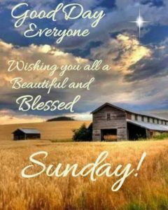 Images of Blessed Sunday