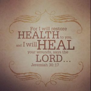 Prayer for Healing bible quotes