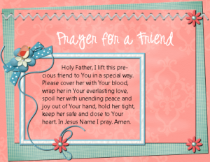 Prayer for healing quotes for friend