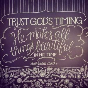 Quotes about Trusting God's timing