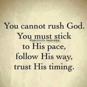 Quotes about Trusting in God's timing