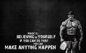 Believe in Yourself Quote Sports