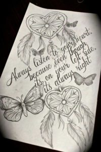Butterfly dream catcher quotes