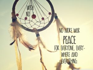 Dream Catcher and Quotes Peace