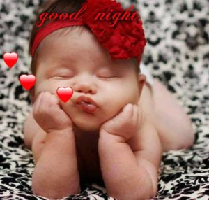 Good Night Cutest Baby Images
