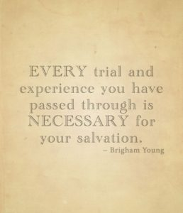 Brigham Young Quote on Miracles