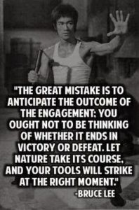 Bruce Lee Quotes Defeat