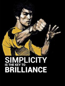 Bruce Lee Quotes about Simplicity