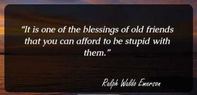 Quotes On Friends By Ralph Waldo Emerson