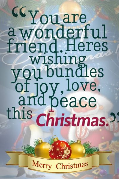 2019 Christmas Wishes for Friends