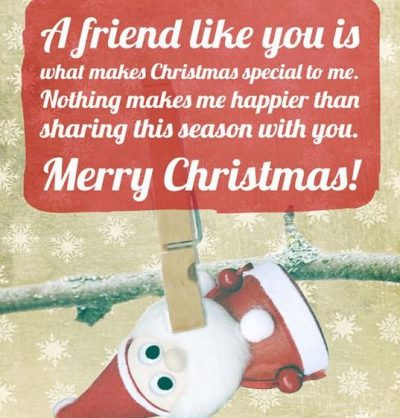 Christmas Message For Friends