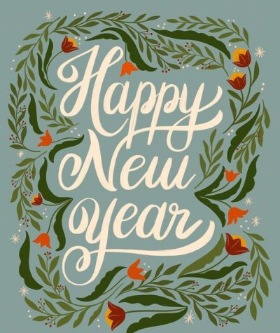 Free Download New Year Greeting Card