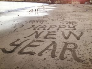 Happy New Year Beach Images