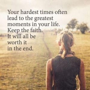 Positive Life Quotes about Faith