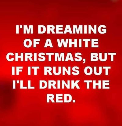 Wine Christmas Picture Quote