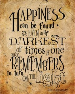 Dumbledore Light Quotes