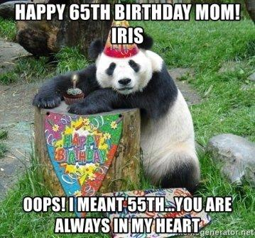 Memes Happy Birthday Mom