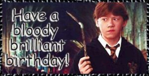 Funny Harry Potter Birthday Meme