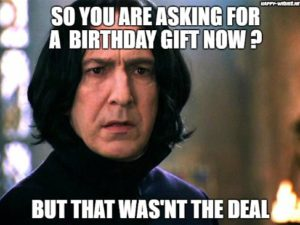 Funny Harry Potter Meme Happy Birthday