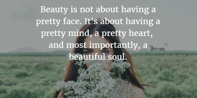 Quotes about a Beautiful Soul