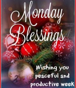 Monday Blessings Cards