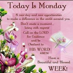 Motivational Monday Blessings Quotes