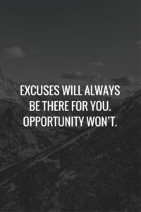Excuse Quotes