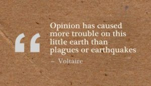 Opinion Quotes and Saying