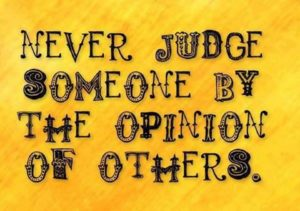 Opinion of Others Sayings