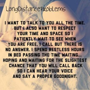 Difficult Long Distance Relationship Quotes