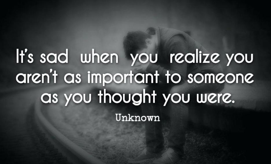 100 Sad Being Ignored Quotes, Sayings, Images and Status