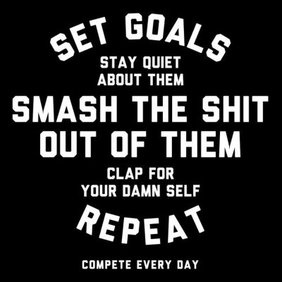 Famous quote on Goal