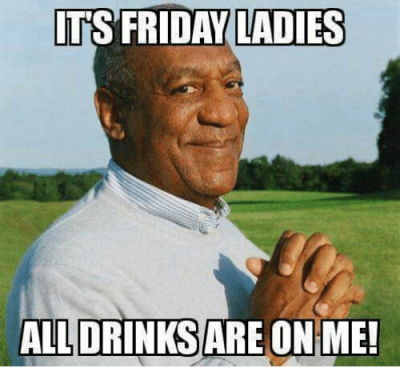 Friday Drinks Meme